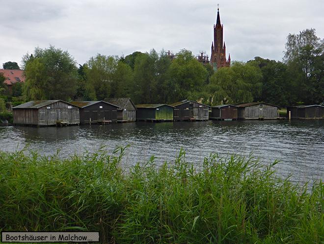 Bootshäuser in Malchow