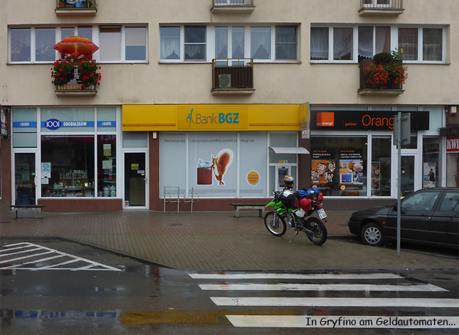 Gryfino Polen Geldautomat