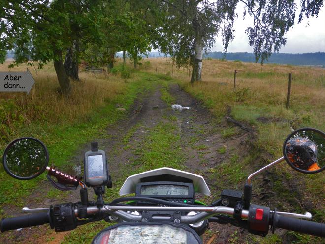 Feldweg Enduro Polen
