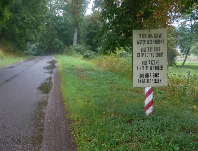 Polen Truppenübungsplatz Endurowandern