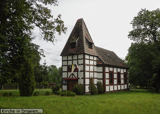 Kirche Drawien Polen