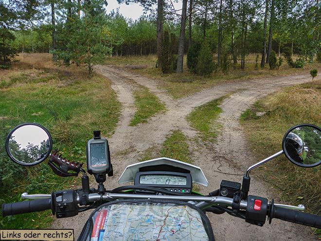 Sandweg Polen