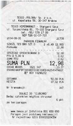 Lebensmittelpreise Polen