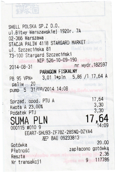 Benzinpreis Polen