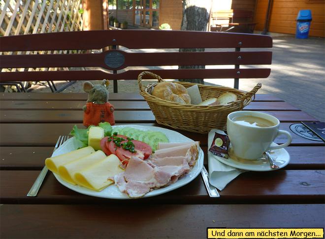 Frühstück in Polen