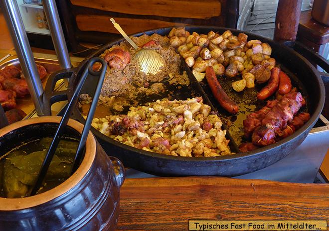 Polnisches Essen Mittelalter