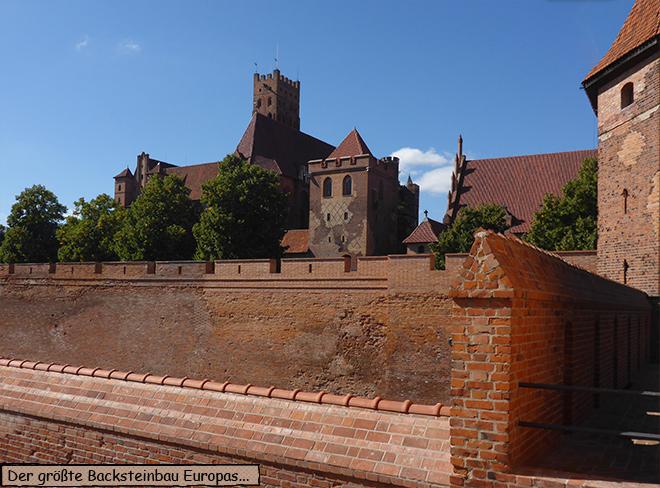 Marienburg Malbork Polen