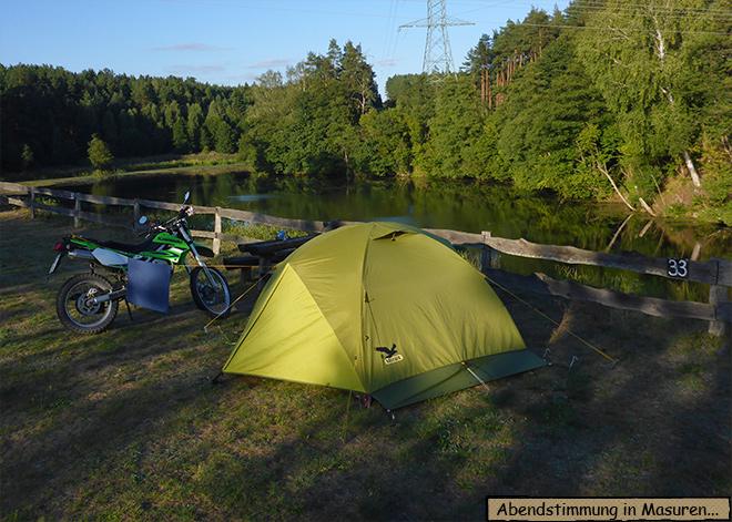 Camping Masuren Dywity Polen Alle
