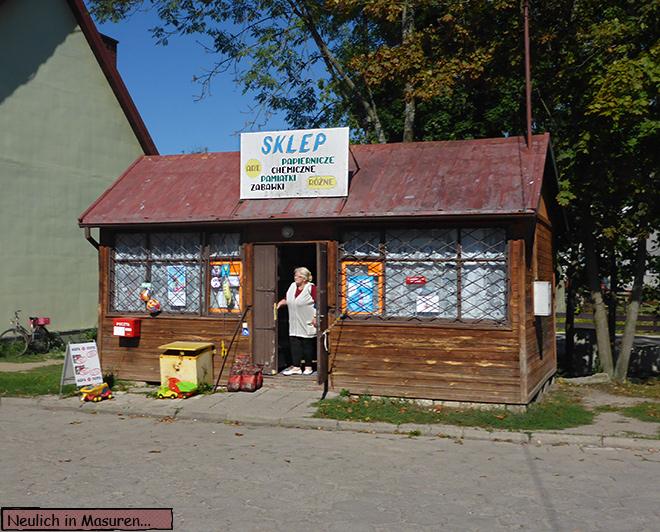 Sklep Masuren Polen
