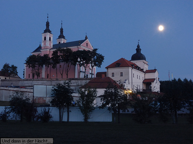 Kloster Wigry Masuren Vollmond