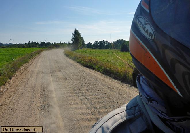 Sandweg in Masuren