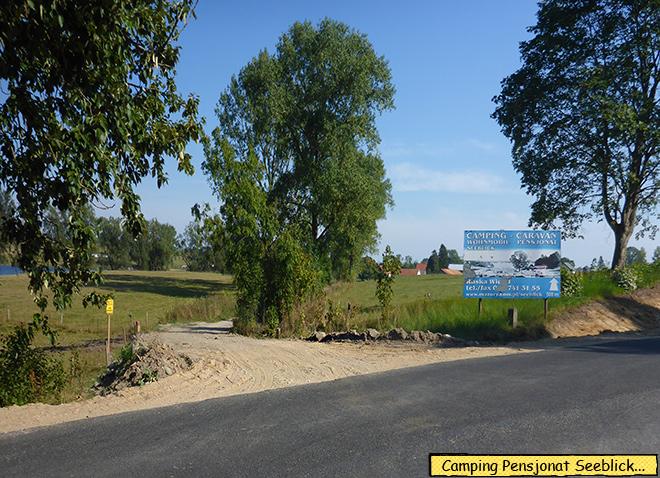 Camping Seeblick Polen Masuren