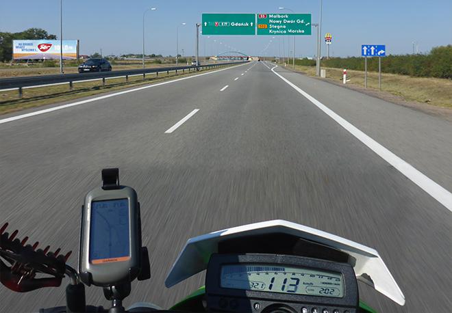 Autobahn Polen Gdansk