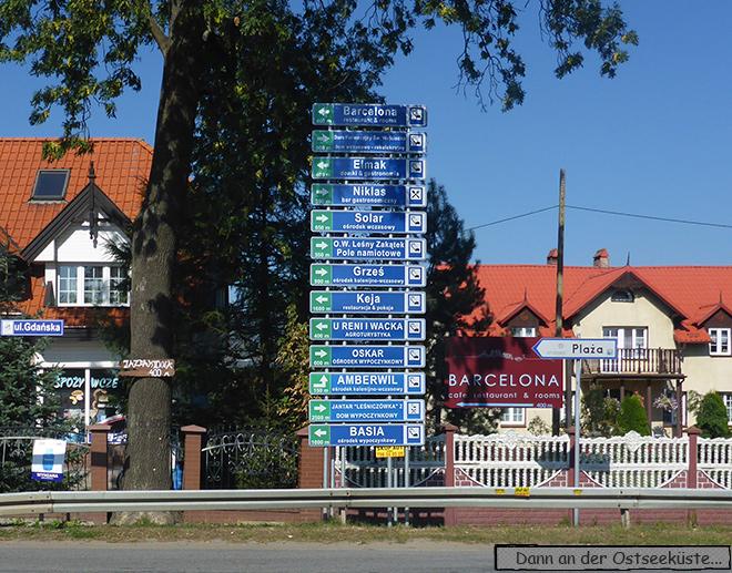 Polen Ostseeküste Danzig