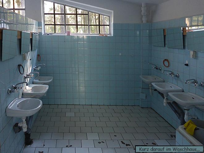 Waschhaus Sanitäranlagen Polen Campingplatz
