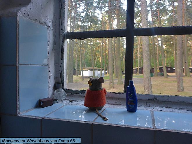 Waschhaus Campingplatz Polen
