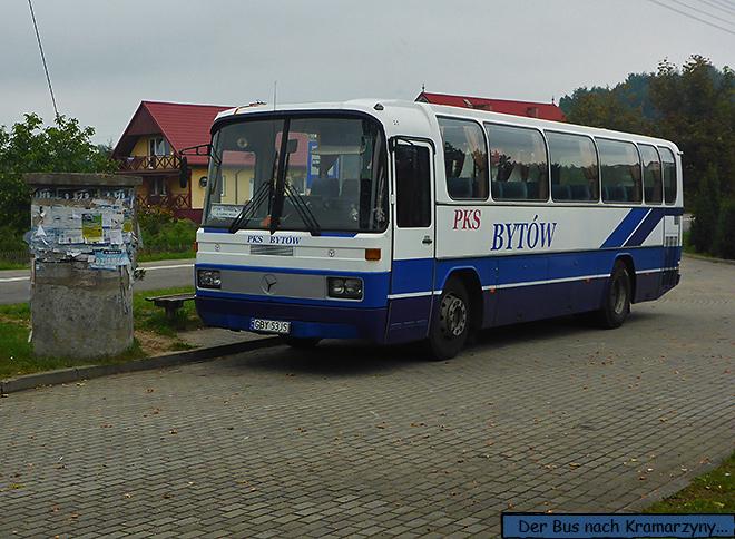 Bus PKS Bytow Kramarzyny