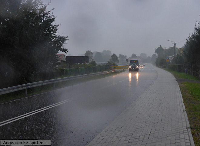 Regen Wolkenbruch