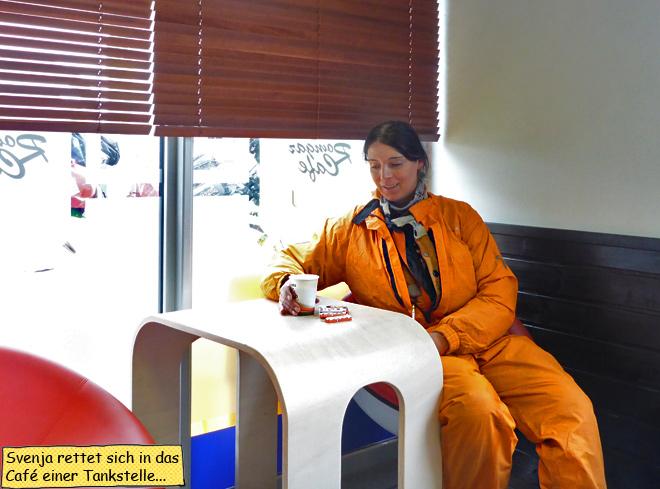 Svenja Svendura Kaffee Regenkombi