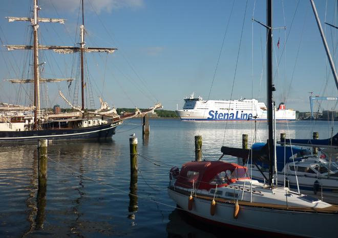 Stena Kieler Förde Segelschiffe