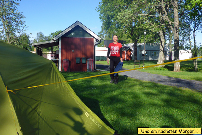 Campingplatz Lenhovda Sweden