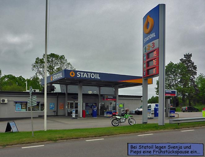 Statoil Tankstelle Schweden