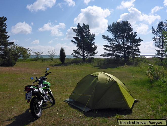 Zeltplatz Gotland Ljugarn Semesterby Camping