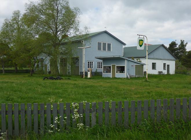 Alte Tankstelle Gotland
