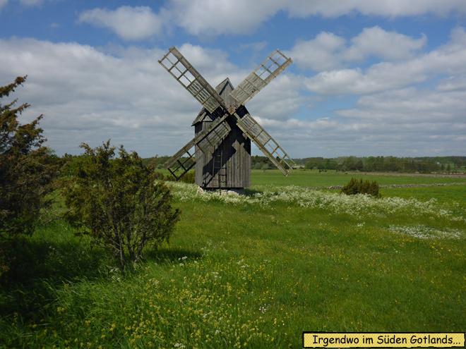 Windmühle Gotland