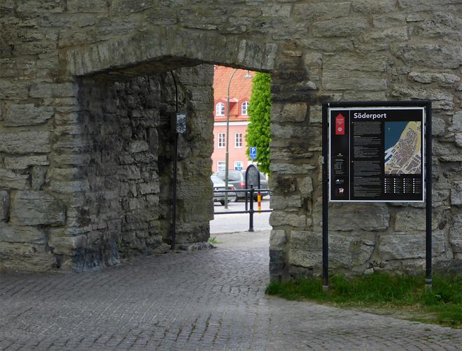 Gotland Visby Stadtmauer Südtor