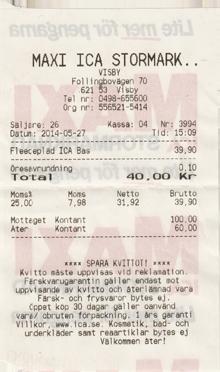 ICA Maxi Schweden Visby