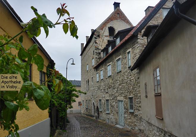 Visby Gotland Alte Apotheke