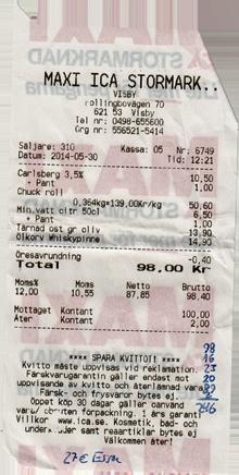 Ica Maxi Supermarkt Visby