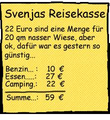 Reisekosten Camping