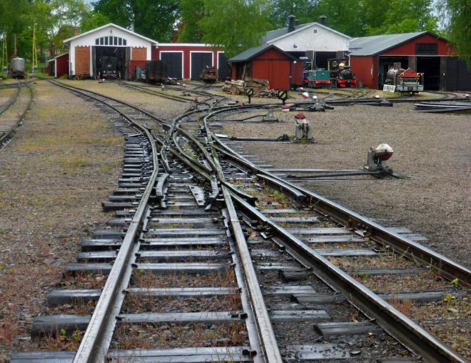 Eisenbahn Mariefred