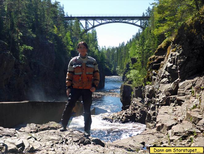 Fluss Wildwasser Schweden