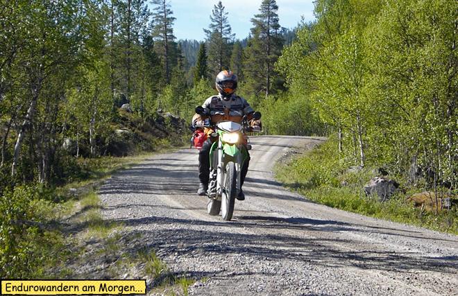 Endurowandern in Schweden