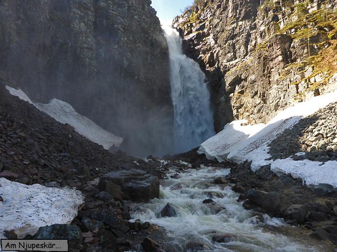 Fulufjället Nationalpark Njupeskär