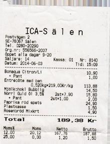 Sälen Supermarkt ICA