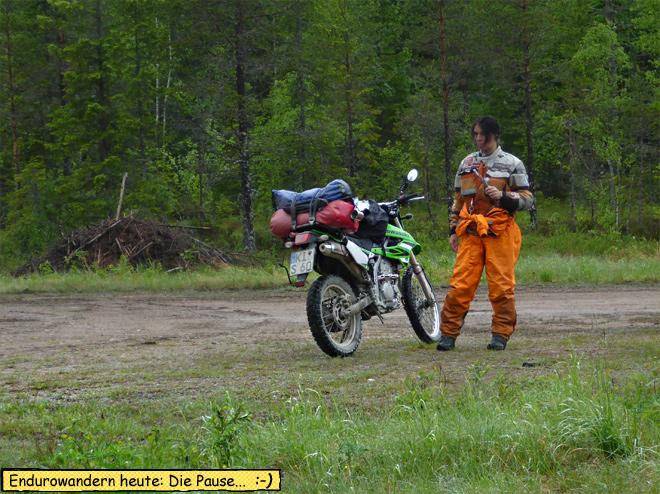 Motorrad pause