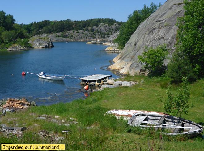 Schweden Felsküste Schären