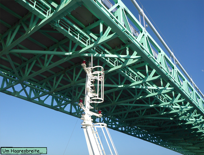 Stena Göteborg Brücke knapp