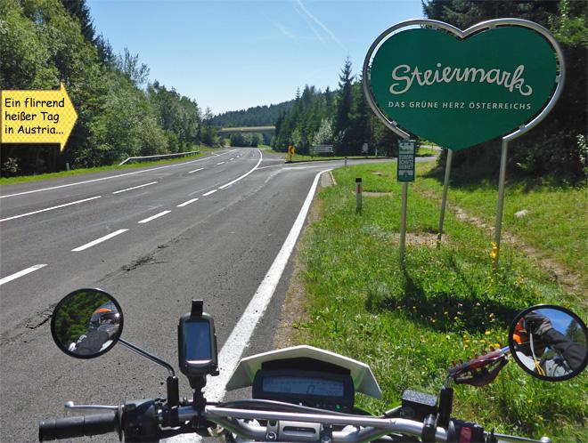 Österreich Steiermark grünes herz