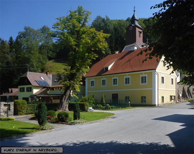 Österreich Dorfkirche