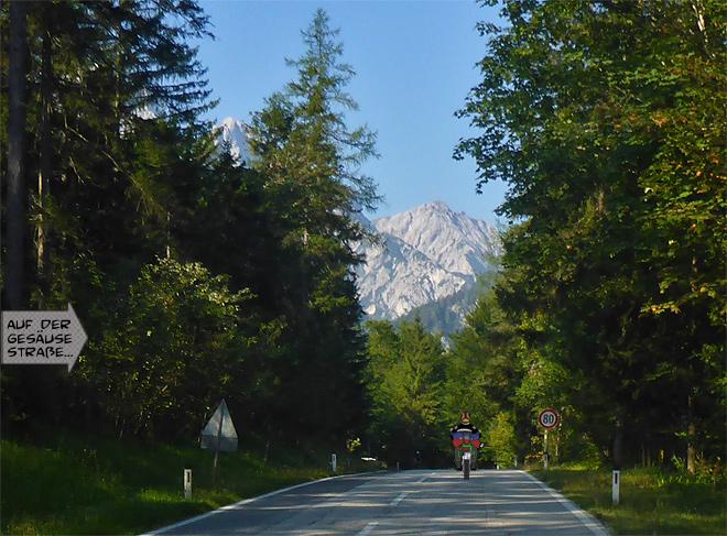Österreich Motorradfahren