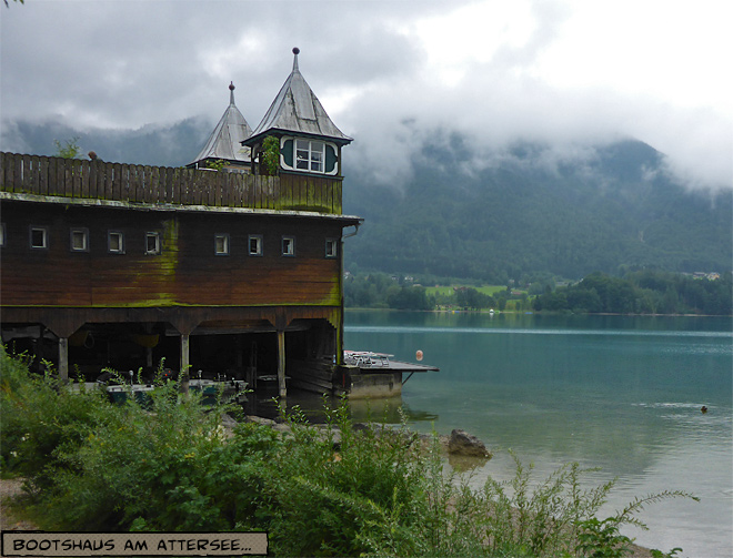 Bootshaus Attersee