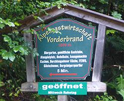 Vorderbrand Alpengasthof