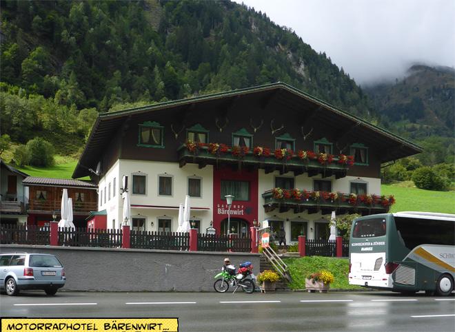 Motorradhotel Bärenwirt am Großglockner