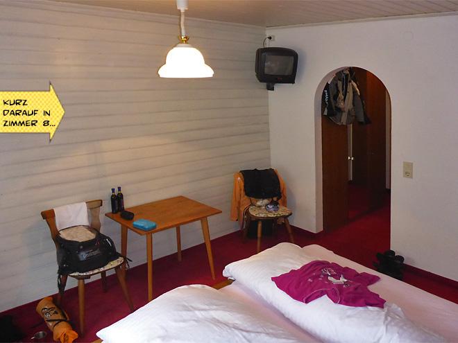Bärenwirth Motorradhotel Zimmer