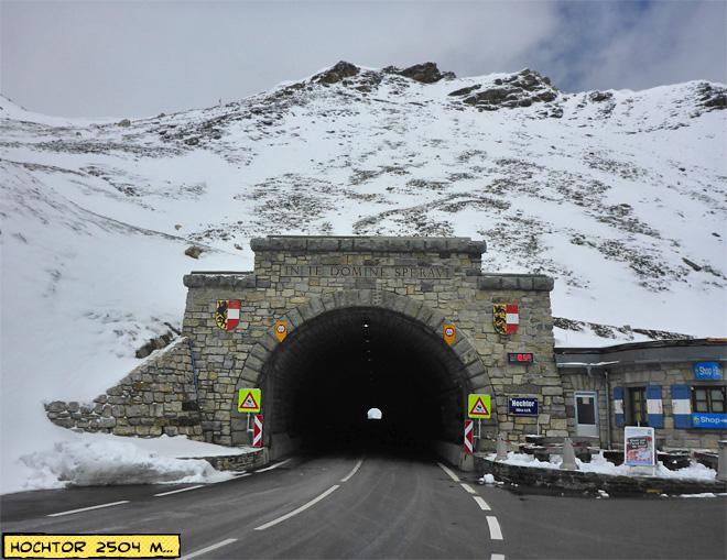 Hochtor Tunnel Großglockner Hochalpenstraße